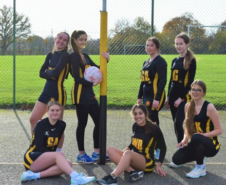 Netball Academy Team Photo 2021 by post