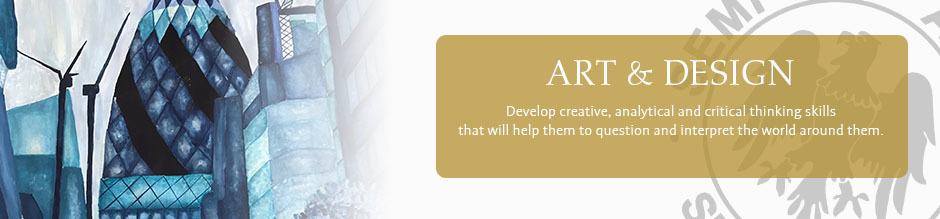 Art website banner