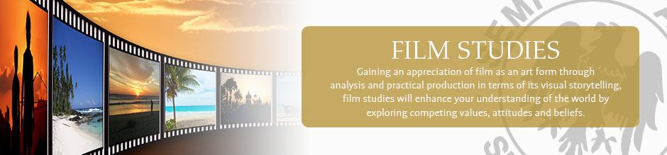 Film studies website banner