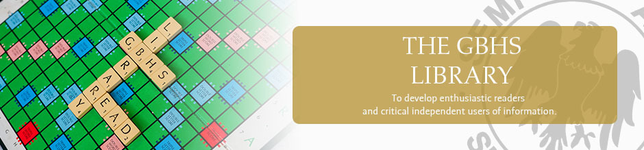 Library website banner