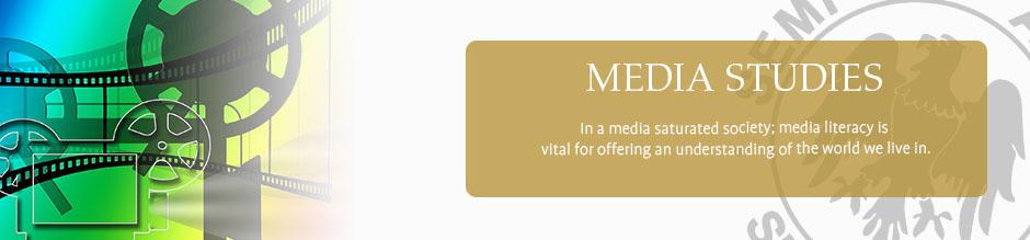Media studies website banner