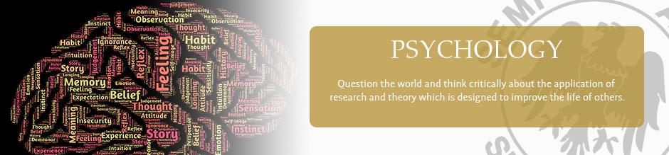 Psychology website banner