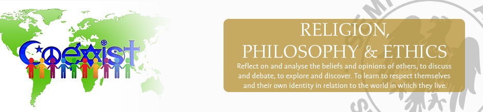 Religion philosophy and ethics website banner